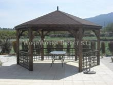 wooden Gazebo in calasparra murcia