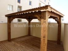 beautiful gazebo in ondara spain