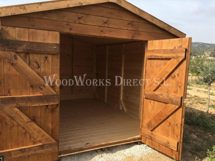 Sheds   Woodworks Direct