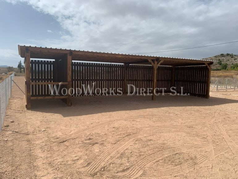wooden horse stables alicante spain