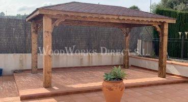 Wooden Gazebo Calasparra Murcia