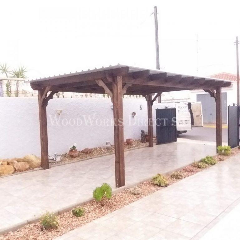 Wood Carport Torrevieja Alicante