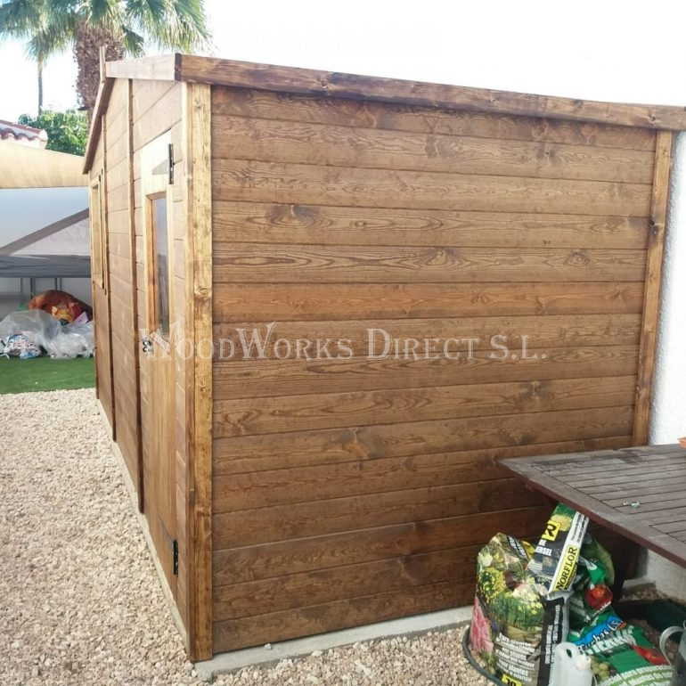 Wooden Shed Quesada Alicante Spain