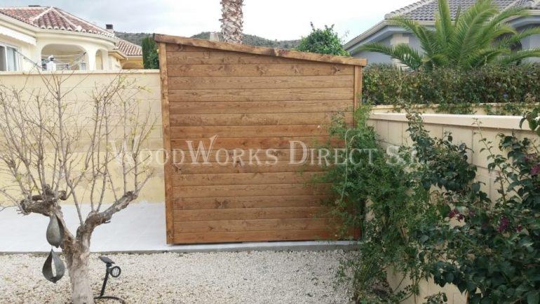 Wooden Shed La Romana Alicante