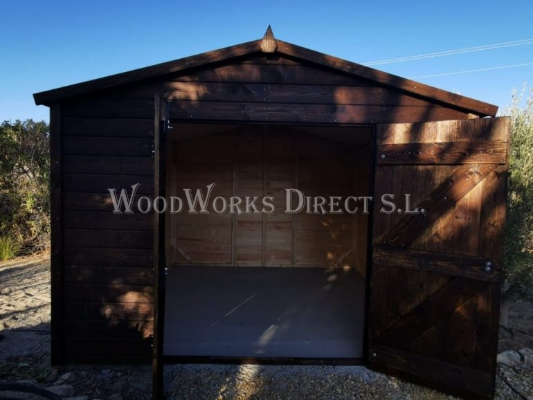 Bespoke Wooden Shed Vera Almeria