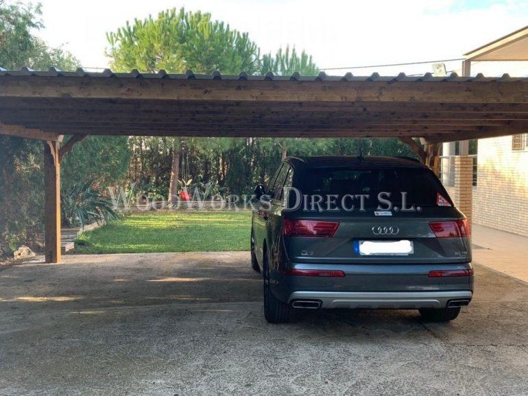 Double Carport Peñiscola Castellón