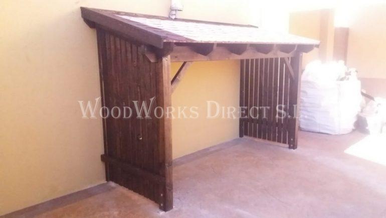 Timber Log Store Raspay Murcia