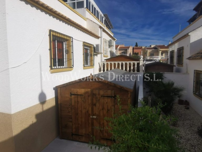 Large Wooden Shed in San Fulgencio Alicante