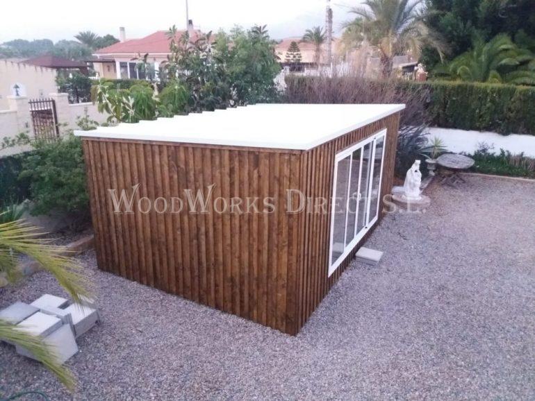 Insulated Timber studio in Albatera Alicante Spain