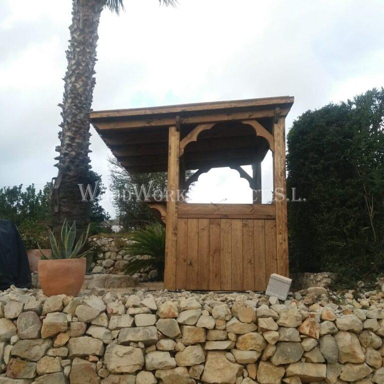 Alicante Lliber Timber Bar