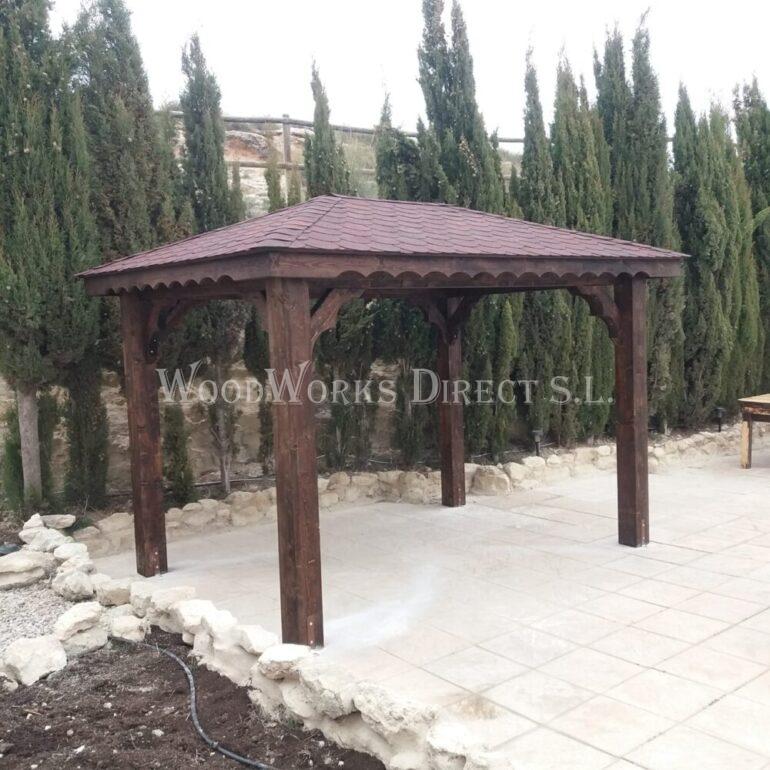 Gazebo Yecla Murcia Timber