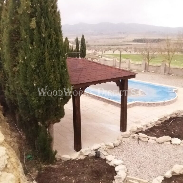 Murcia Timber Gazebo