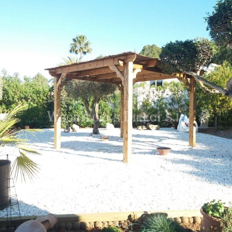 Yecla, Murcia, Pergola, timber