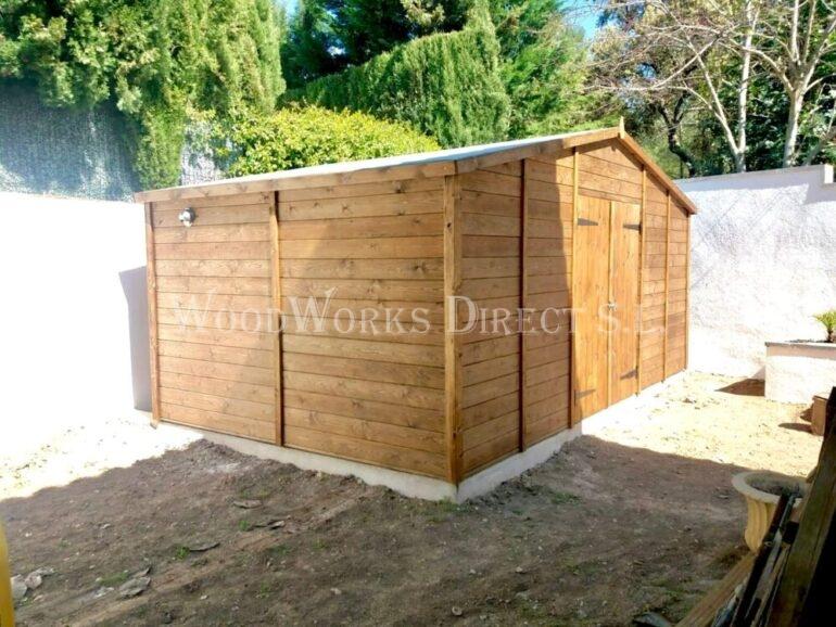 Wooden Shed Mazarron Murcia Alicante