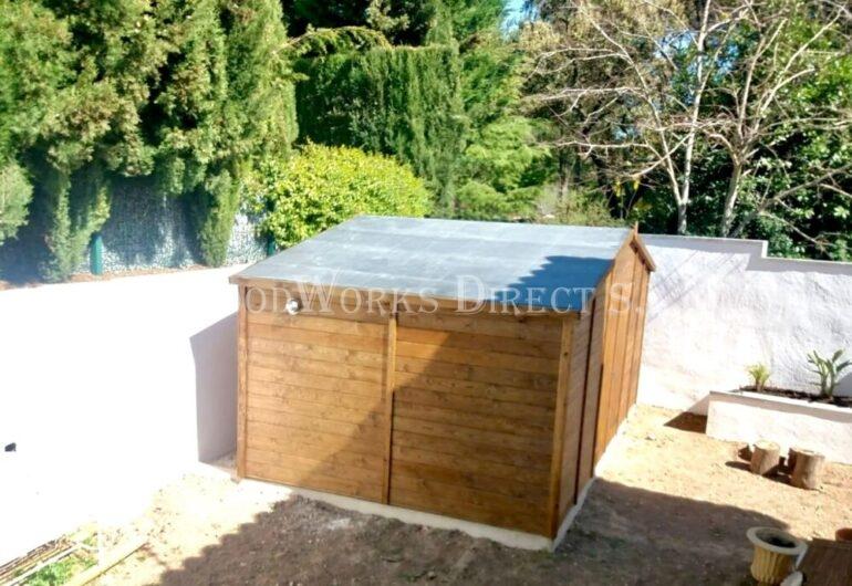 Timber caseta madera Shed