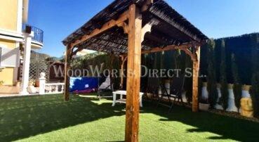 Pergola Mazarron Murcia Timber