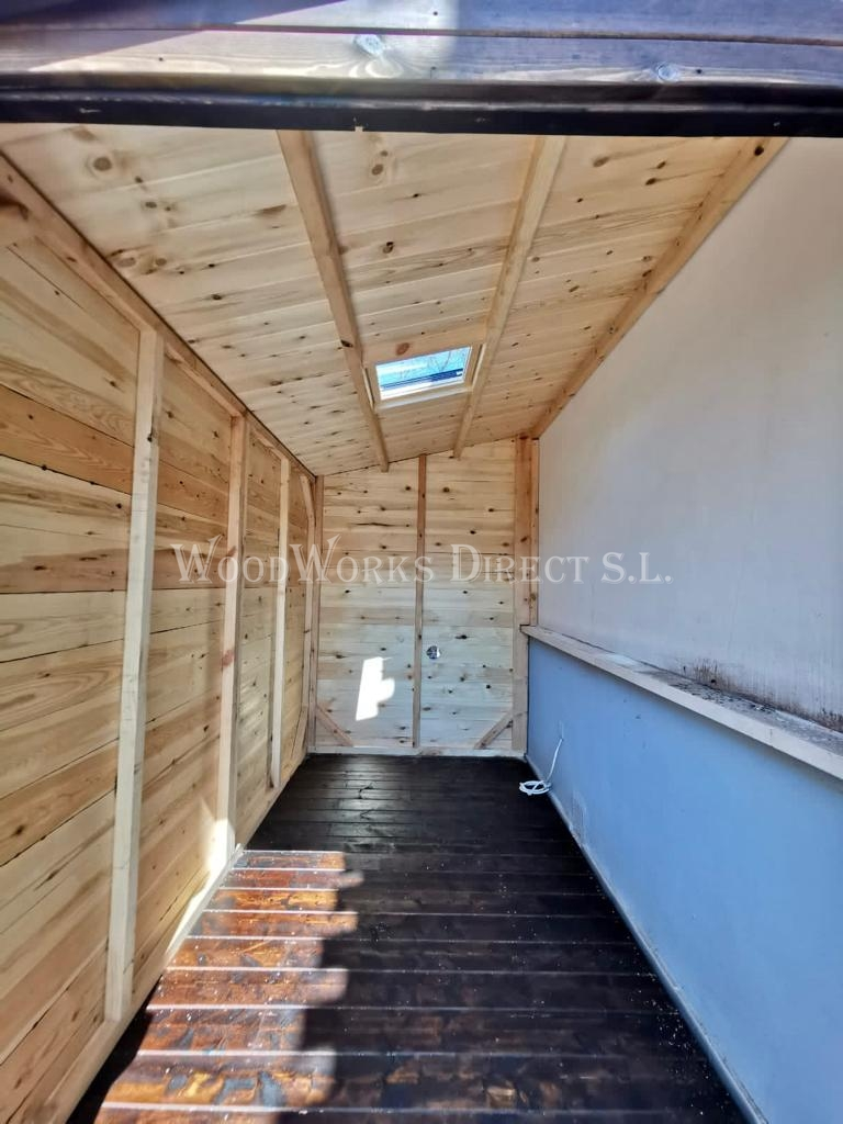 Timber shed Murcia Torre-pacheco