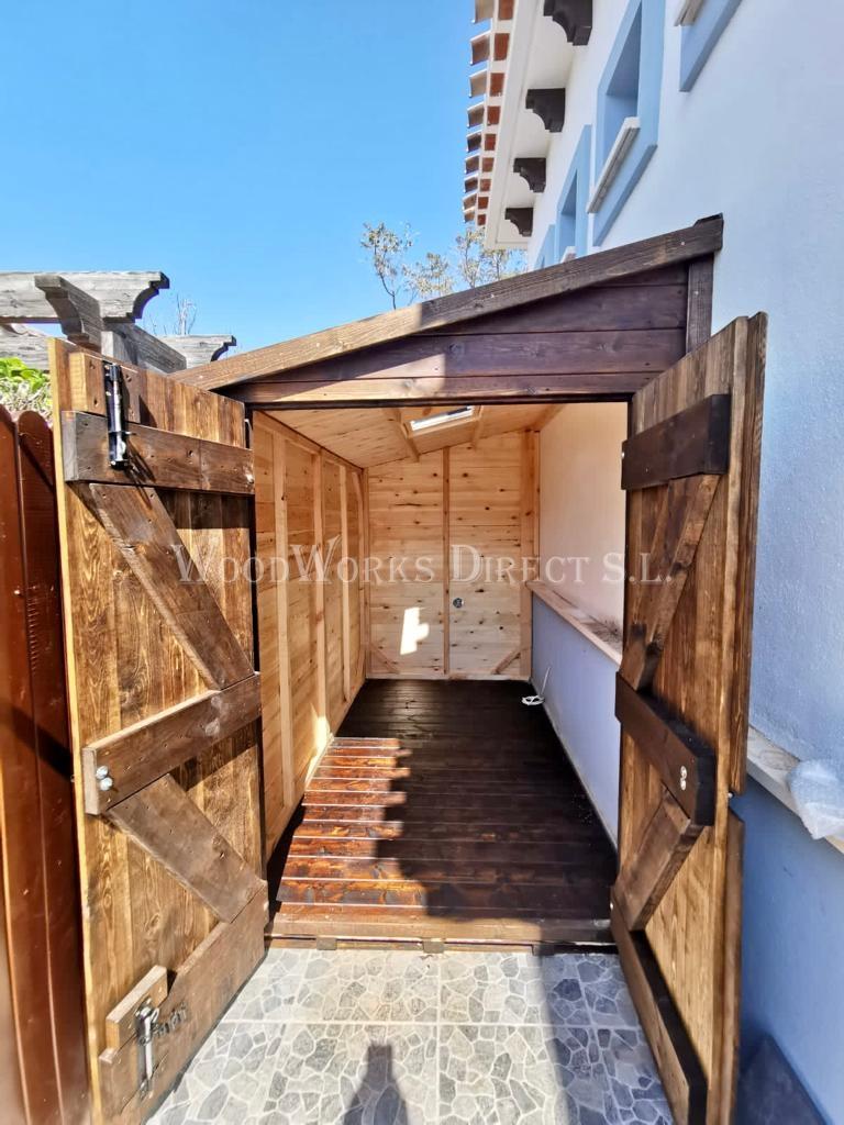 Caseta Murcia madera torre-pacheco