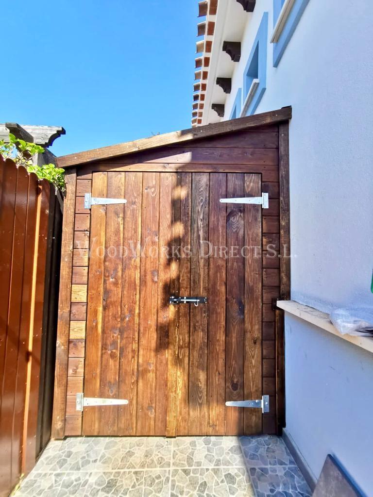 Wooden Shed Murcia Caseta