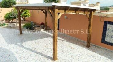 Wooden Carport Alicante San Fulgencio