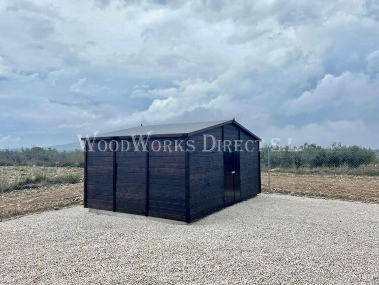 Wooden Shed Pinoso Alicante