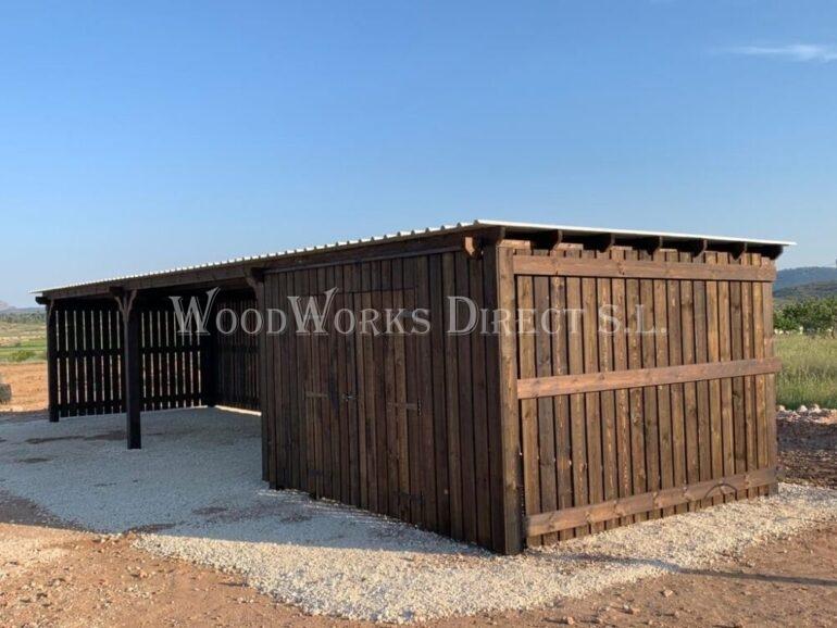 Horse Shelter Pinoso Alicante