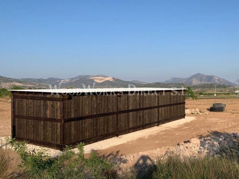 Wooden shelter Alicante Murcia