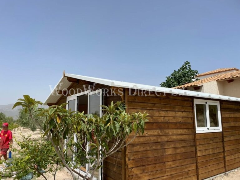 Wooden Shed Insulated Alicante
