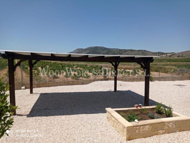 Abanilla Murcia Timber Carport